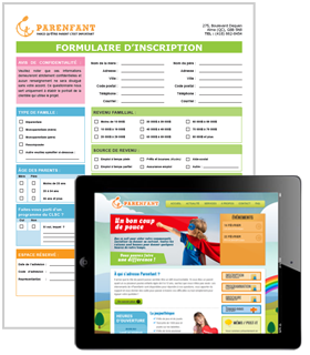 Conception site web et documents corporatifs